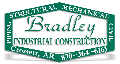 Bradley Industrial Construction | Crossett Arkansas